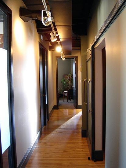 Modern office hallway images for Office hallway design